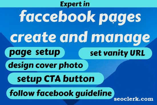 create facebook business page and optimize it professionally