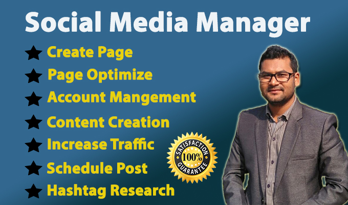 be your professional social media manager