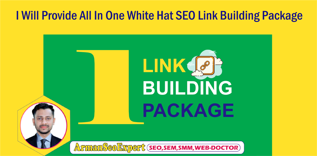 I Will Provide All In One White Hat SEO Link Building Package