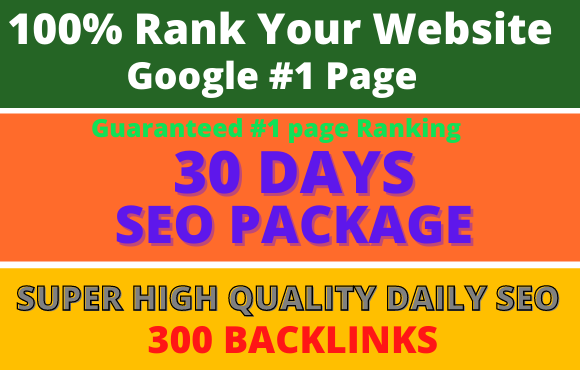 i will Create high quality dofollow SEO backlinks link building google top ranking