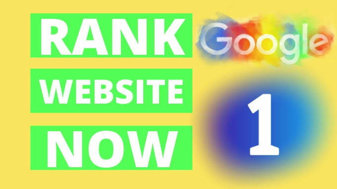 I will provide SEO service for google 1st page ranking