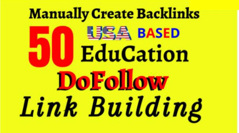 I will do 50 dofollow SEO backlinks link building for google top ranking