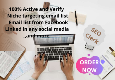 i will make that targeted niches email list