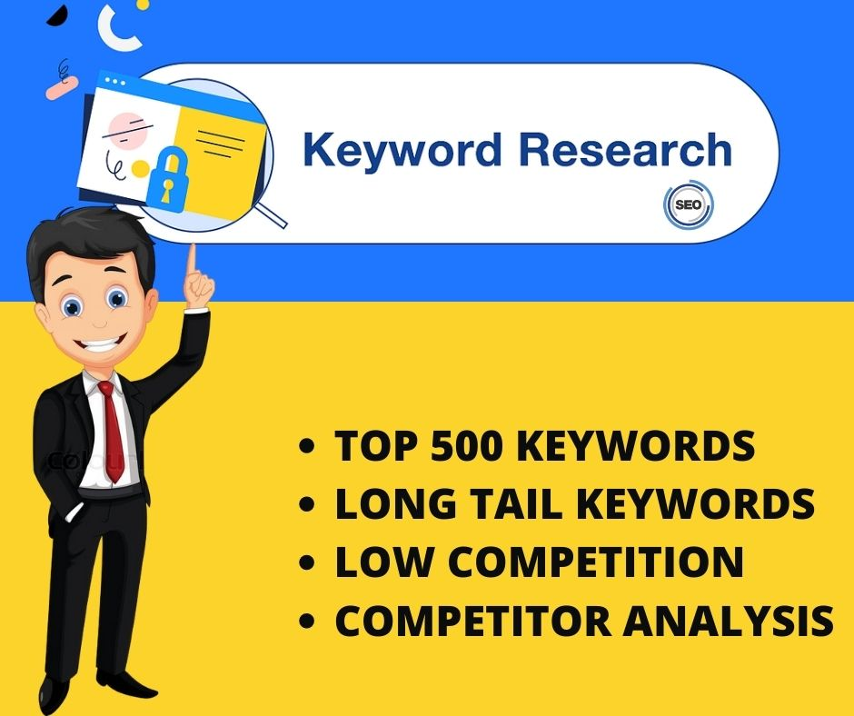I will do SEO top keyword research and competitor analysis