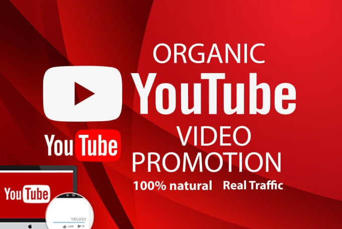 Do organic 1k You tube video promotion