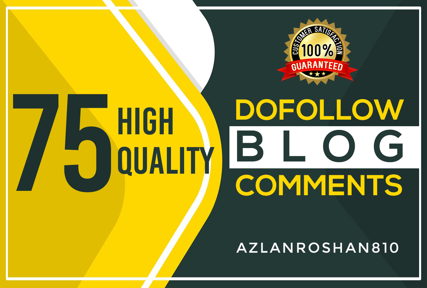 75 High Quality DO-Follow Blog Comments