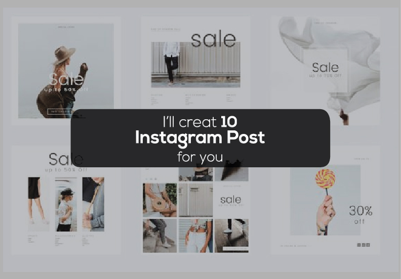 I will create Eye-catching Instagram post design for you in 24 hours
