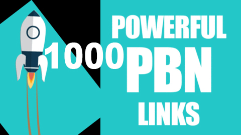1000 powerful pbn high DA 50 & DR 30 to 70 plus dofollow backlinks offpage seo