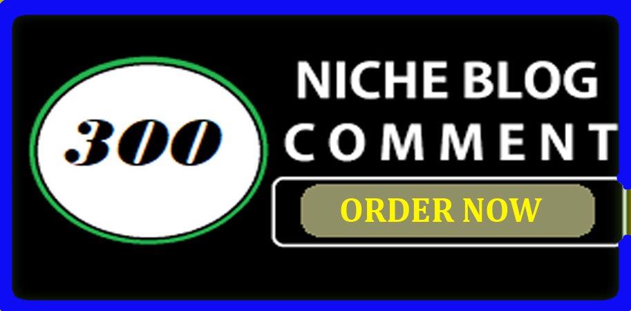 I will do create high quality 300 niche related blog comments backlinks