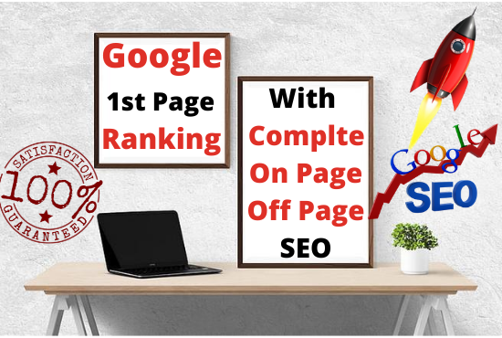 RANK your Site on Google First Page with Guaranteed OFFER