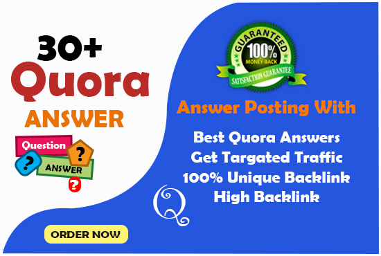 Boost your website with 30+ quora answer