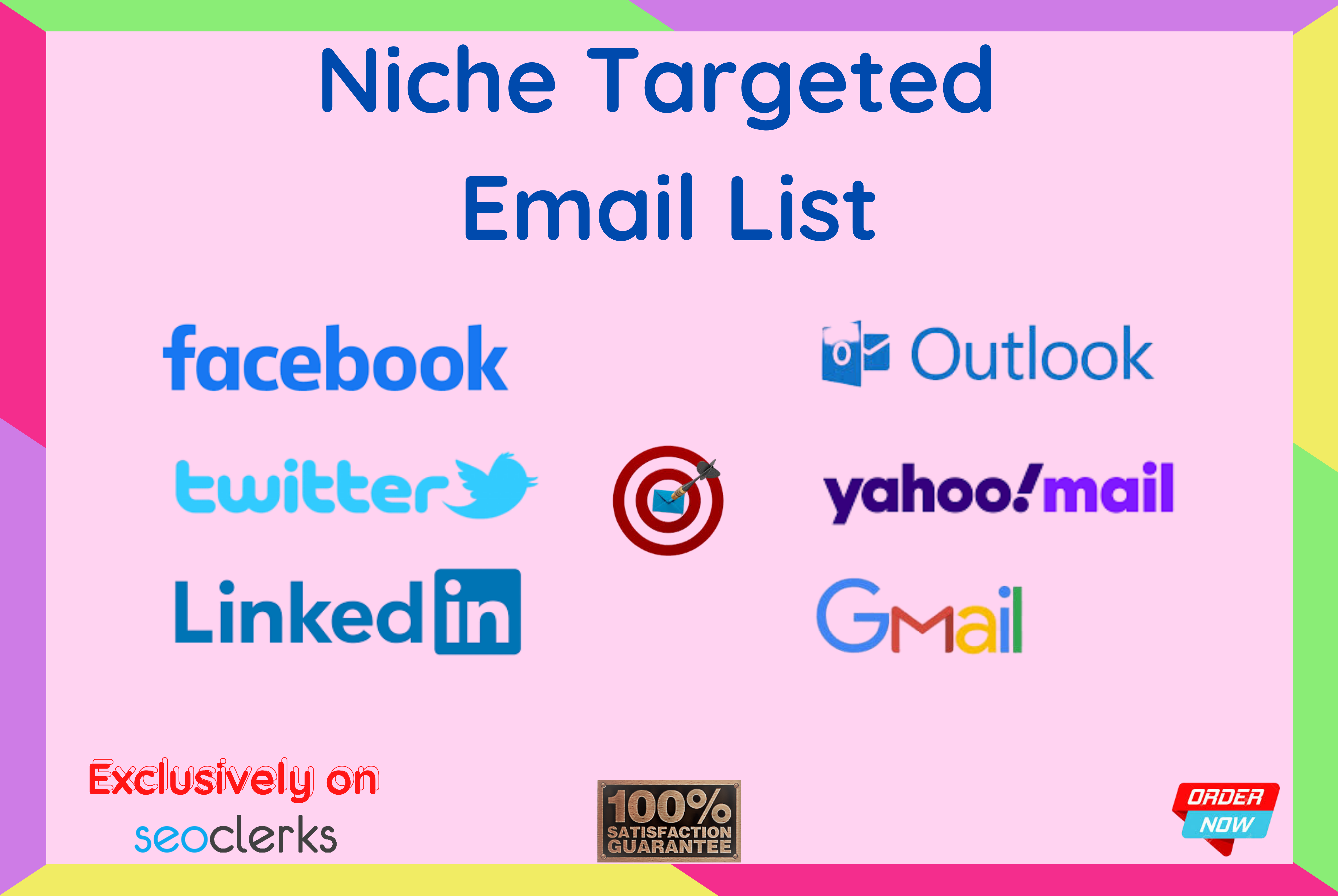 I will collect a niche targeted email list