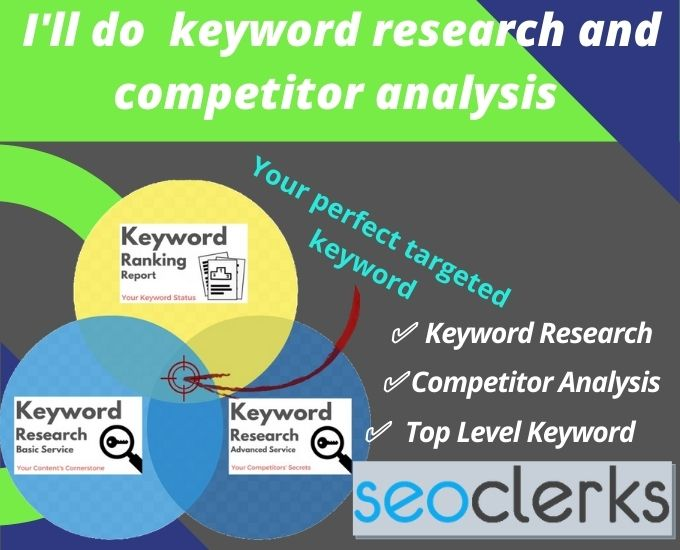 I'll do keyword research and competitor analysis