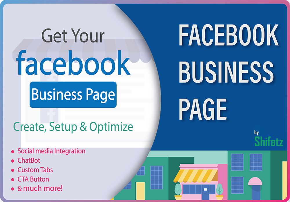 I will create and setup professional facebook business page