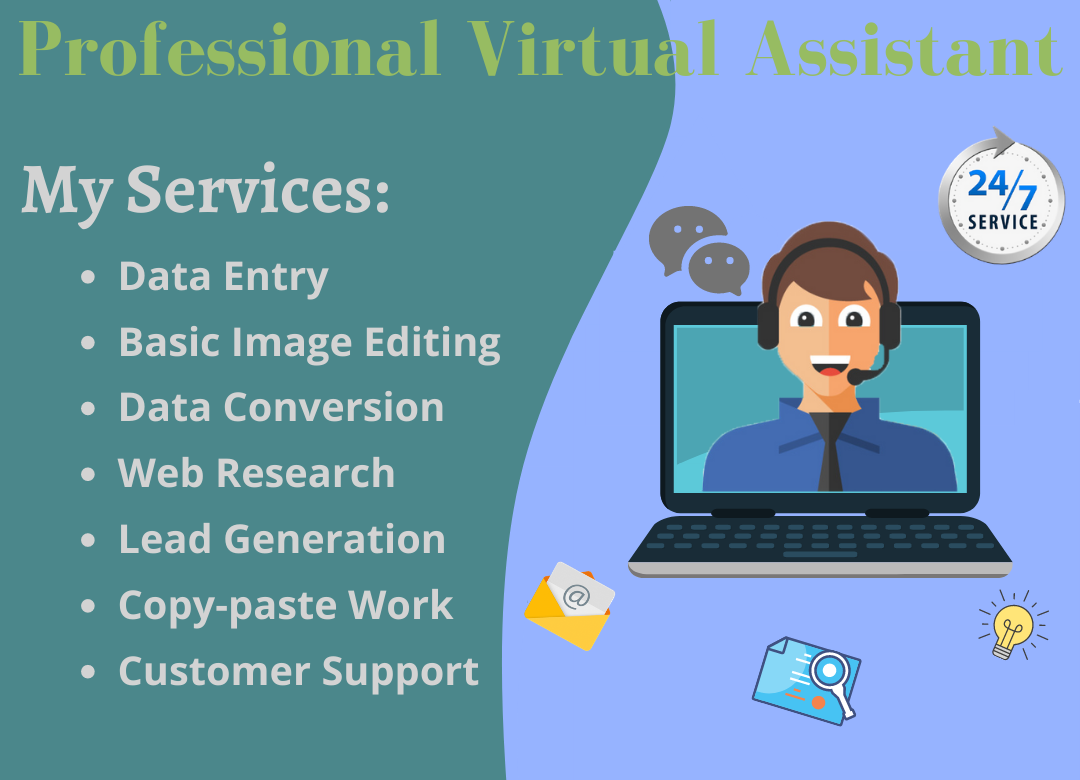 I Will Be Your Virtual Assistant For Administrative And Personal Work