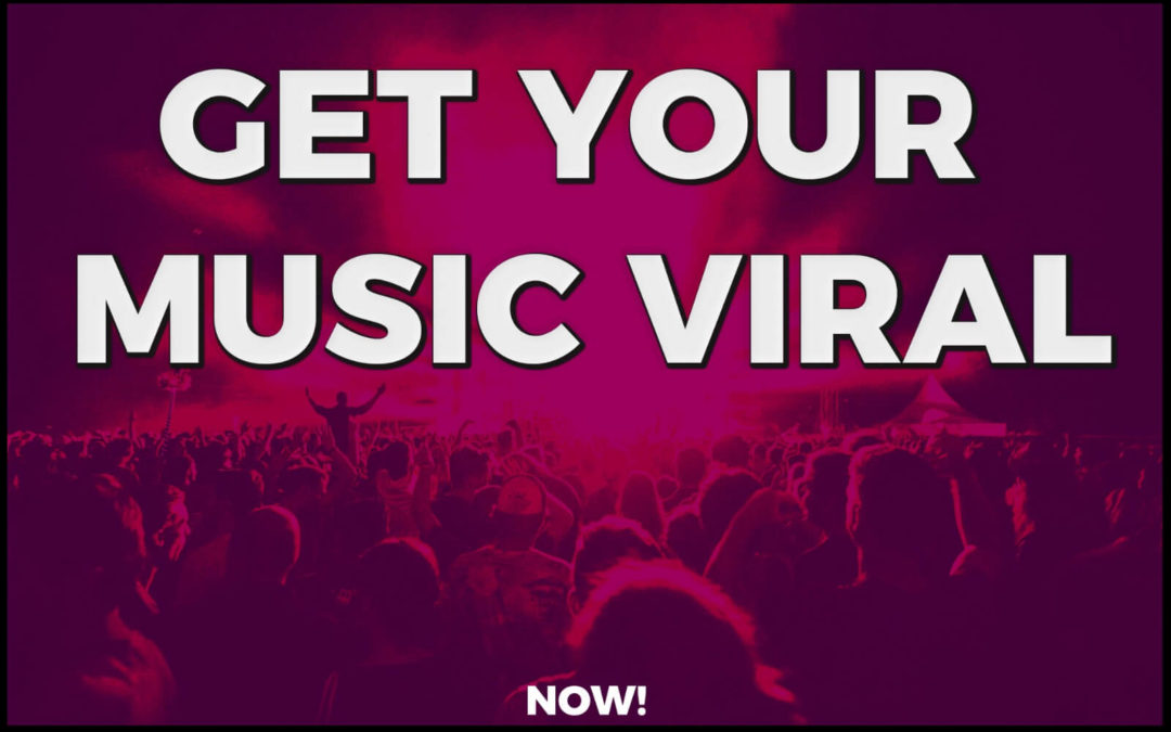 I will do organic music promotion and viral music marketing