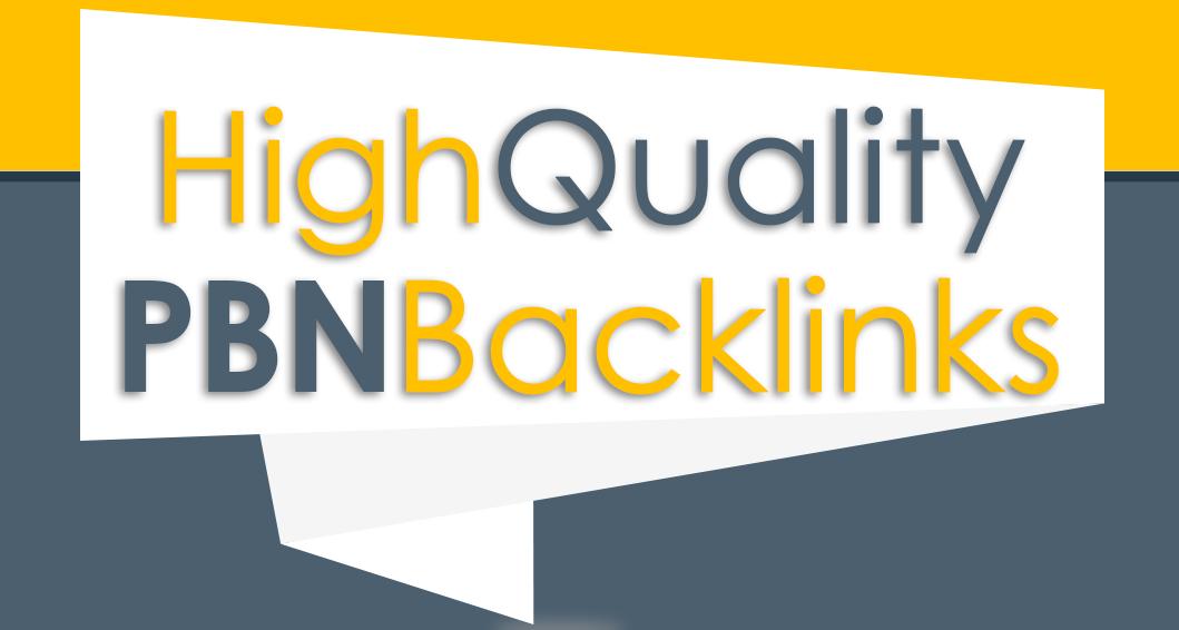 Build 12 High PA DA TF CF HomePage PBN Backlinks - Dofollow Quality Links for 5