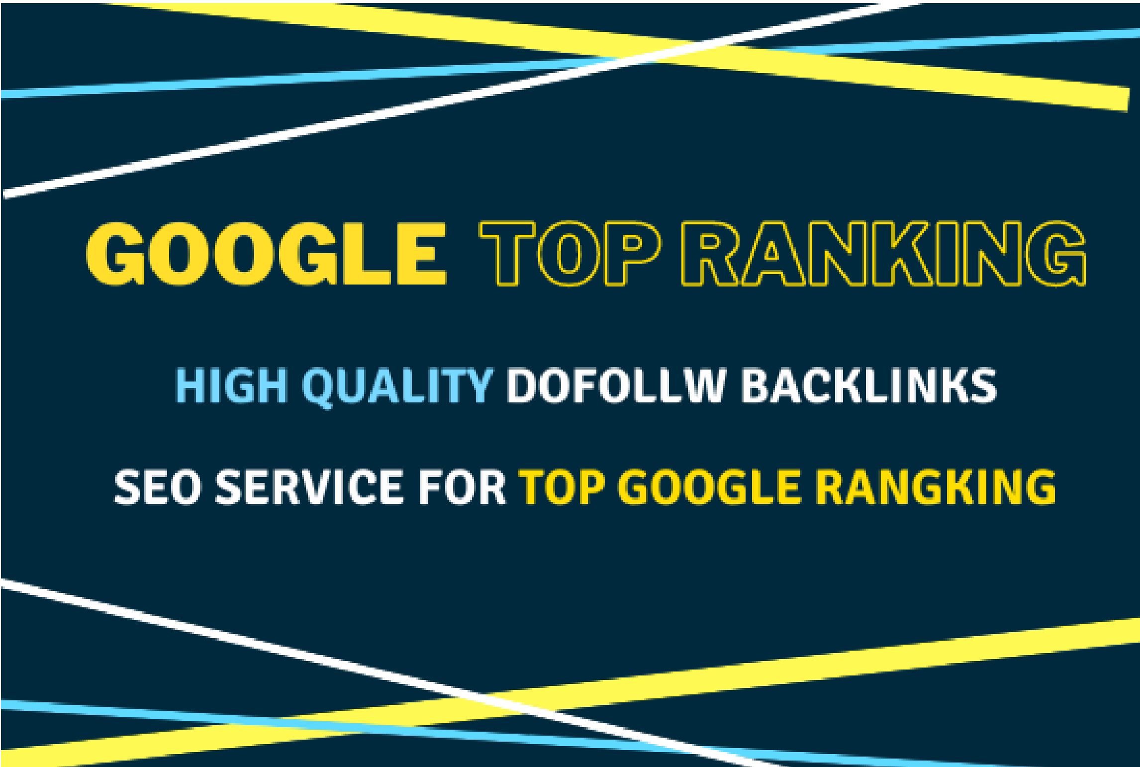 I will provide best google top ranking services with white hat SEO