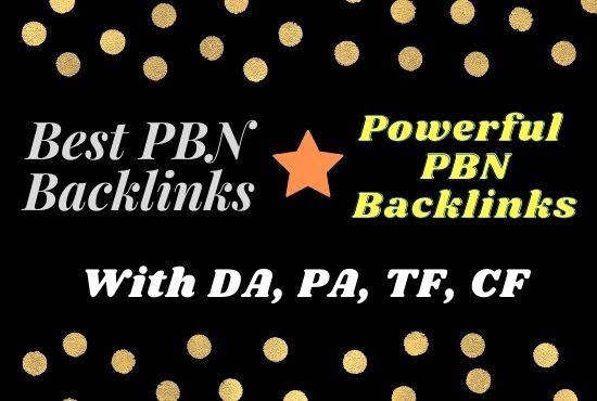 Build 15 High PA DA TF CF Homepage PBN Backlinks - Do follow Quality for your Links