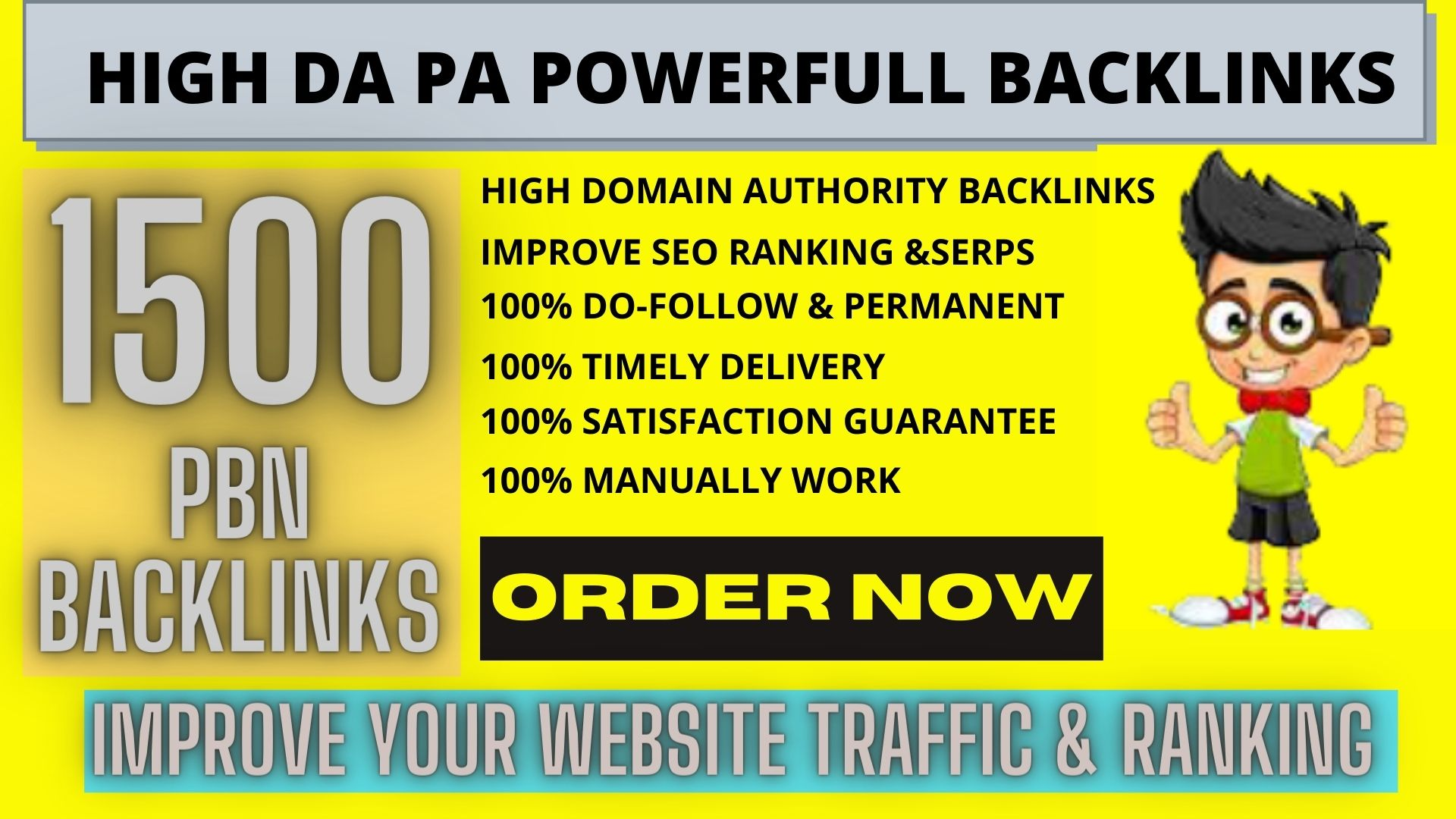 Build Premium 1500 Permanent PBN High DA 40 TO 90 PA 35+ TF CF WEB 2.0 Backlink with Dofollow site