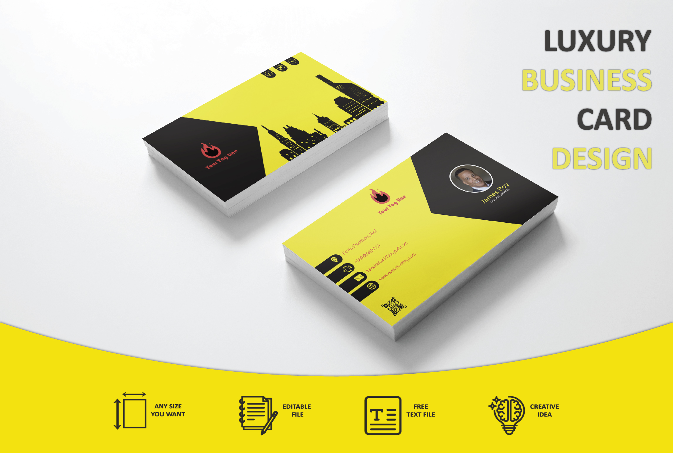 I will do professional business card design in 4 hours