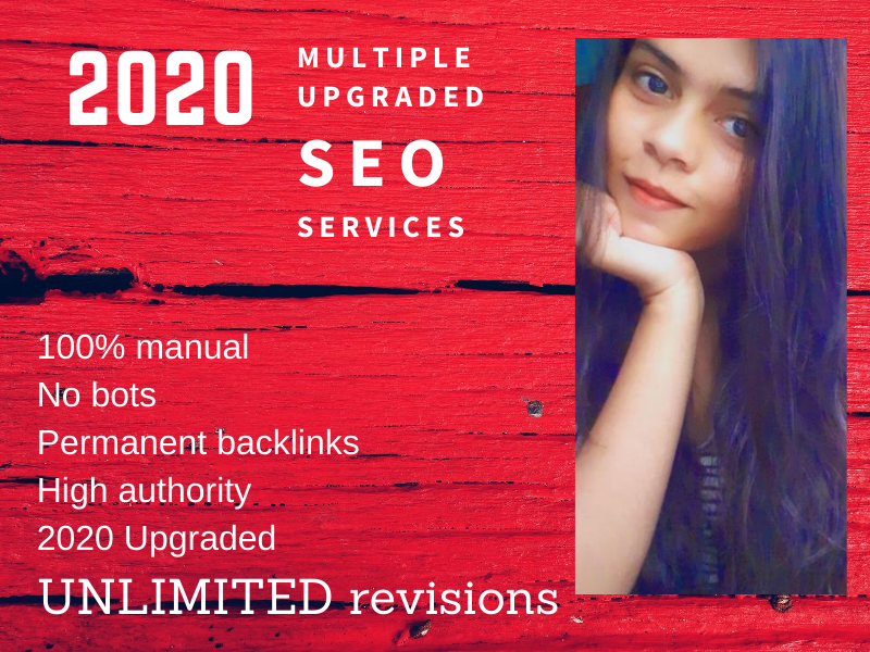 2020 multiple Upgraded SEO backlink services to rank your website on Google