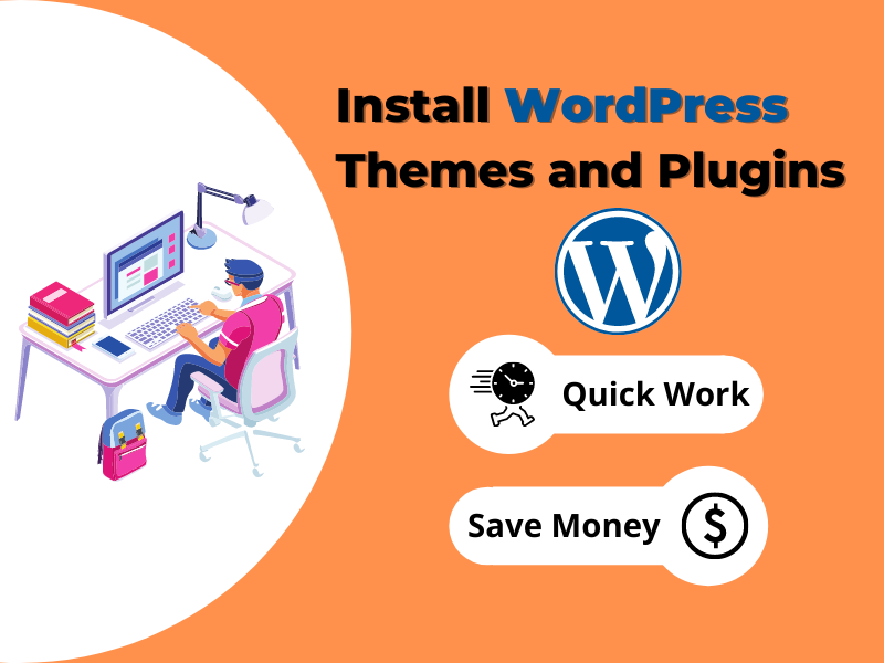 I will install WordPress theme and plugins on your website