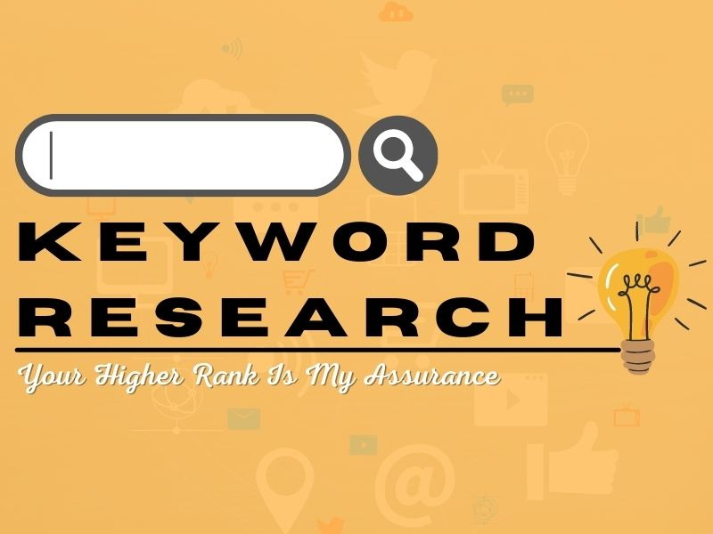 I will do long-tail keyword research and competitor analysis for better SEO