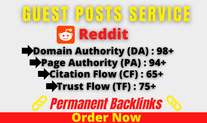 I will write and publish guest posting on da90+ sites with Dofollw backlinks
