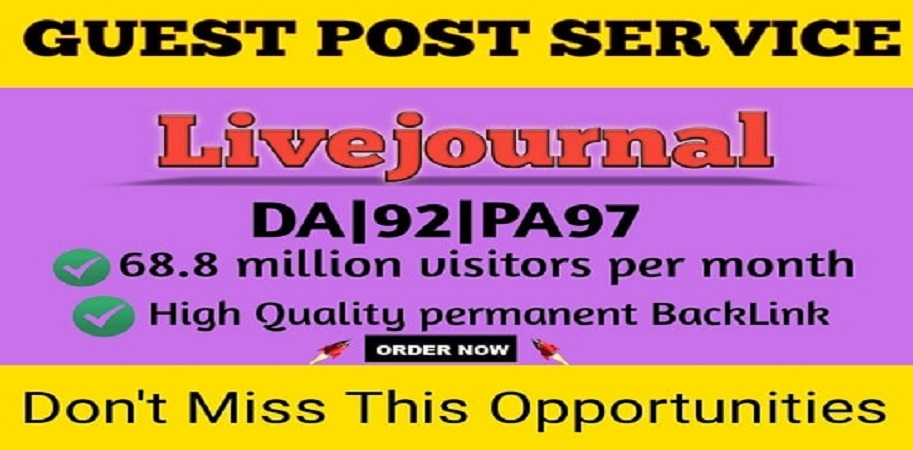 I will write and publish DoFoIIow guest post on livejournal da92