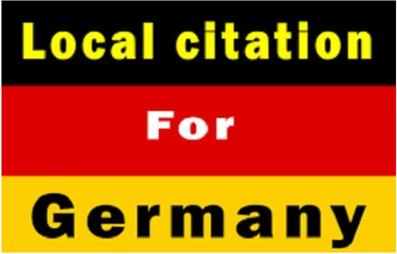 I will create 20 best germany local citations