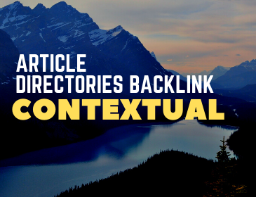 500 contextual Article directories backlink