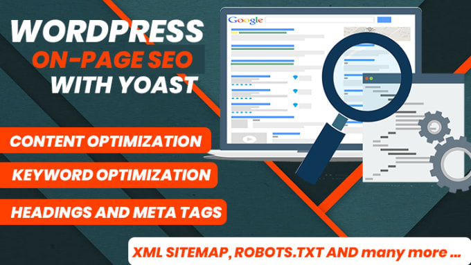 I'll do complete on-page and technical SEO of your website