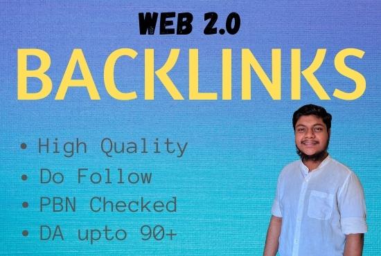 I Will Build 20 High Quality Web 2.0 Do Follow Backlinks