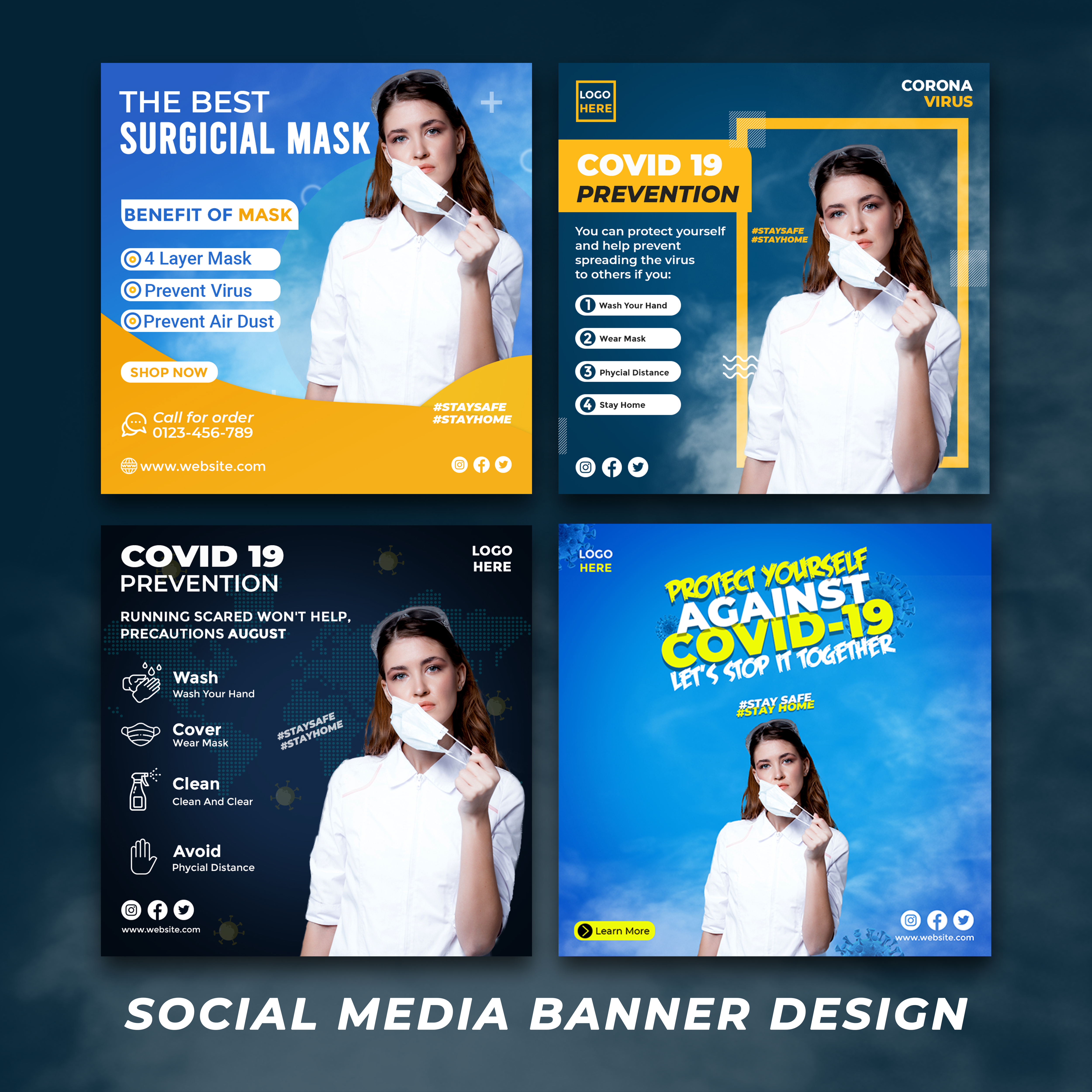 I will Create creative Social Media Banner Design