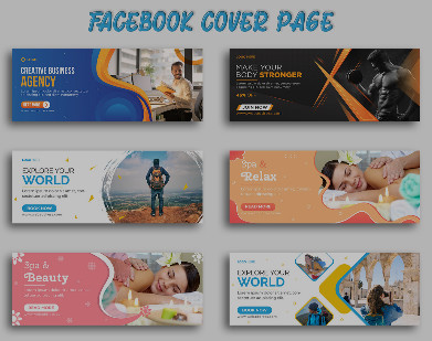 I will Create creative Facebook Cover Banner Design
