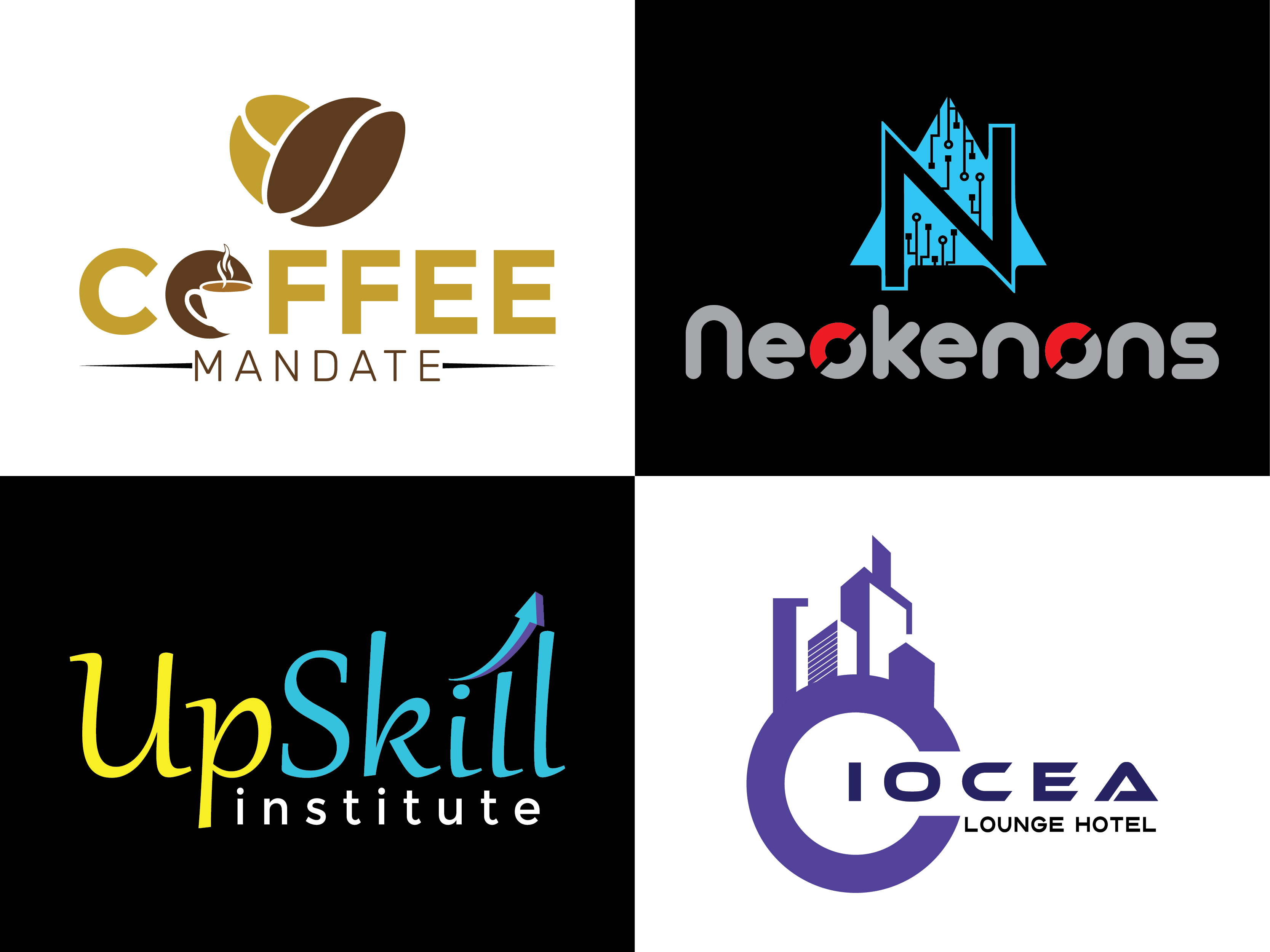 professional,  creative and minimalist logo for you.