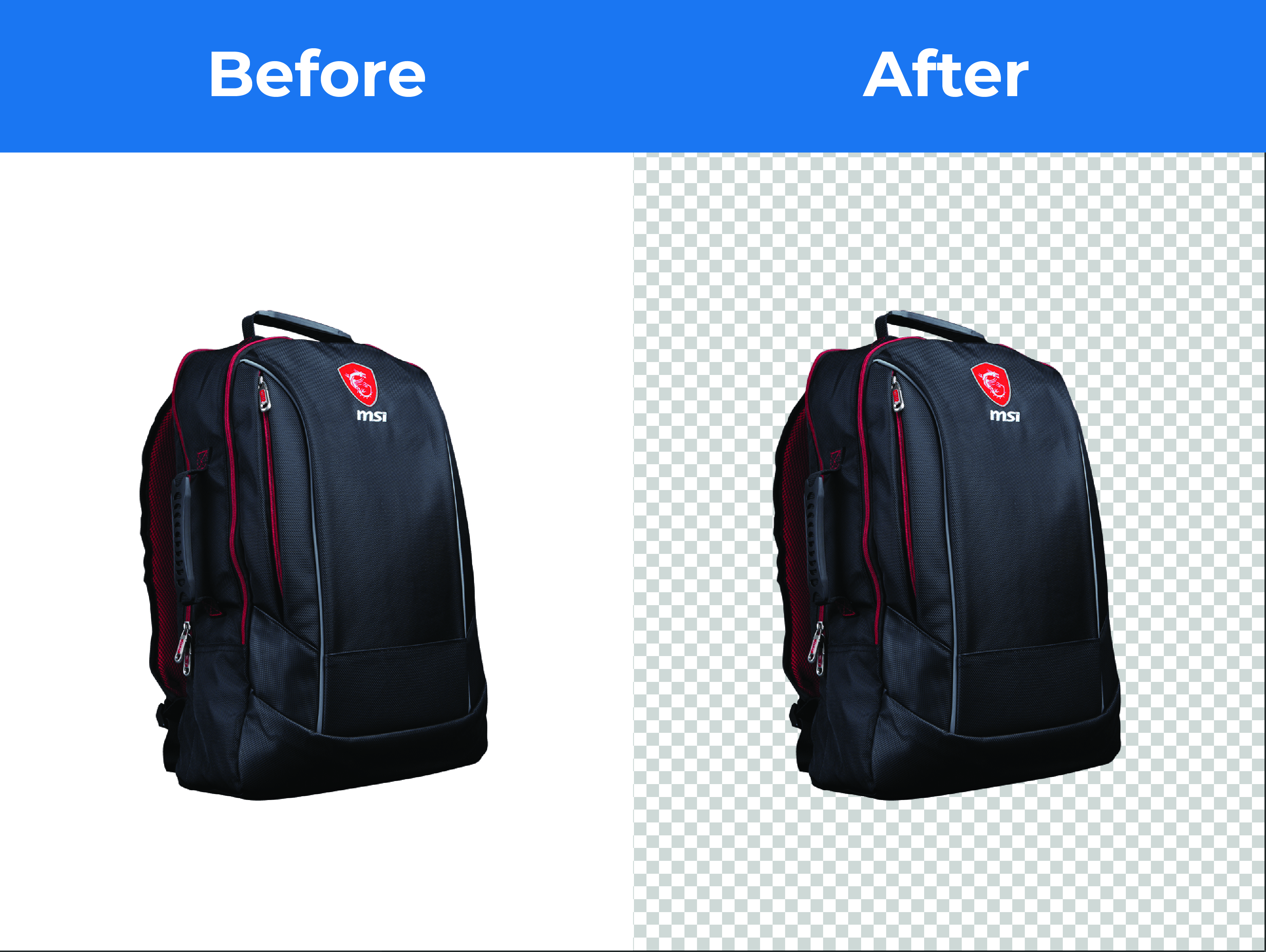 I will do 10 photo retouched and background remove