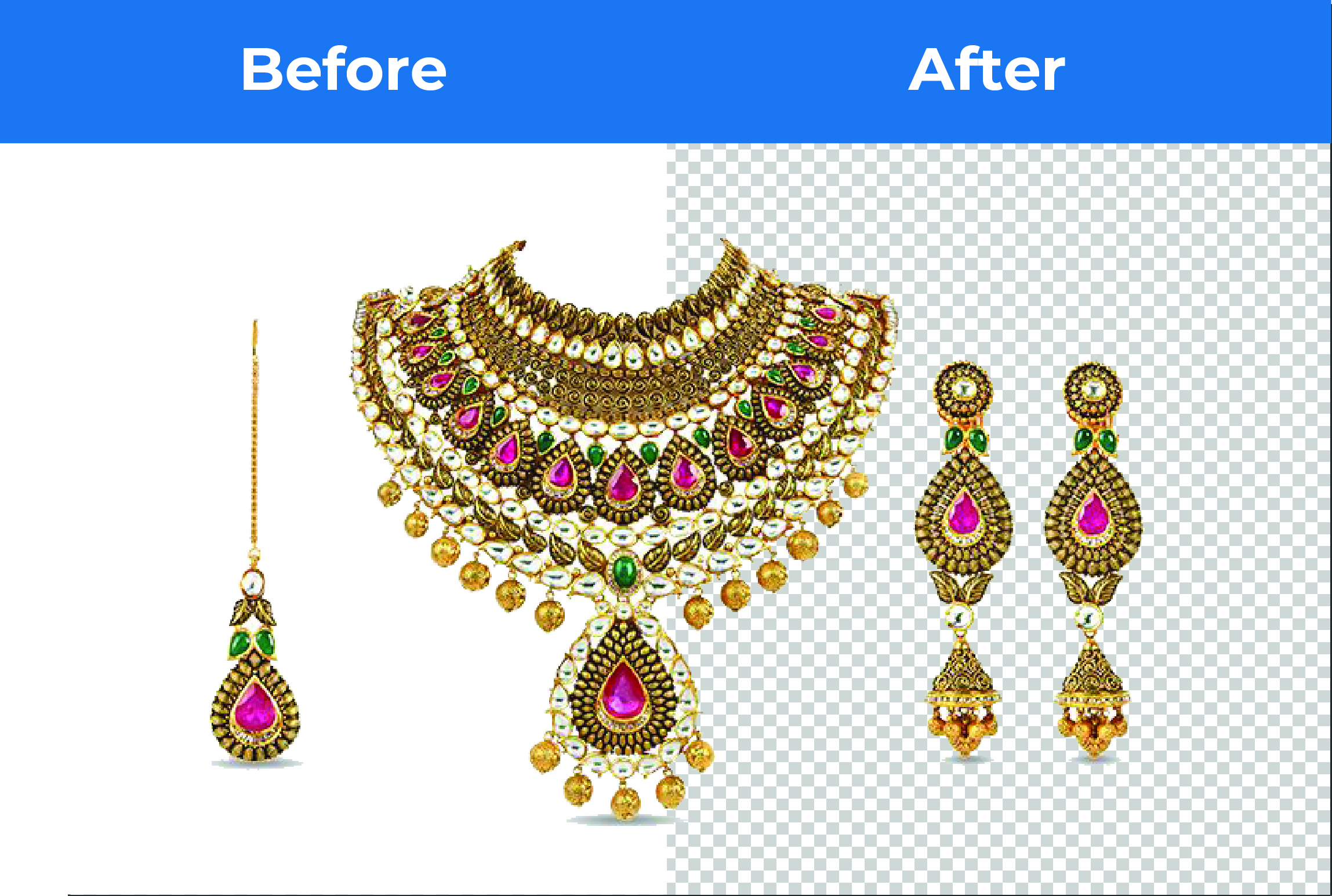 I will do 3 simple photo retouched and background remove