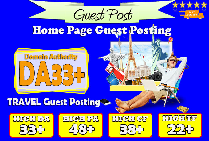 give you da33 travel guest post