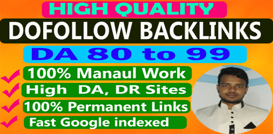 I will build 40 high quality dofollow backlinks,  SEO guest posts and link building