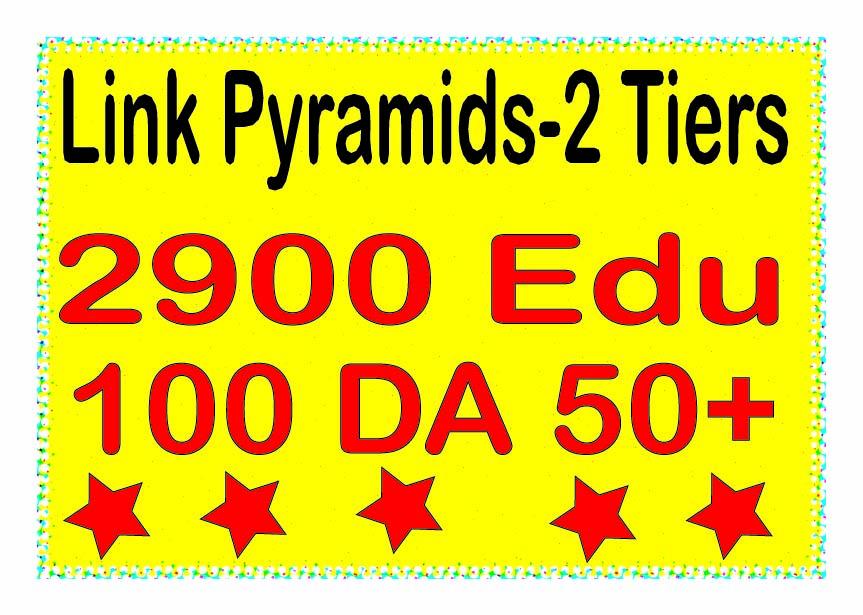 Boost Multi-Tiere Backlinks - 3000 Contextual DA 50+ &. EDU Tiered Backlinks For SEO