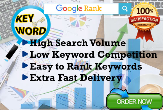 Seo Keyword Research and Competitor Analysis - Premium Quality