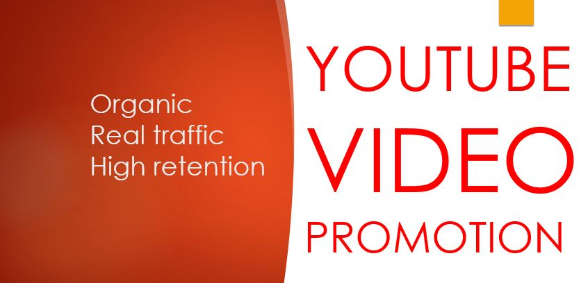 I do professional vedio promotion with organic traffic