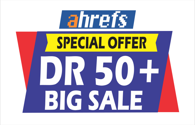 I will increase ahrefs domain rating DR 50 very fast