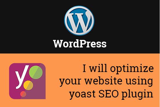 Optimize Website using Yoast SEO Plugin