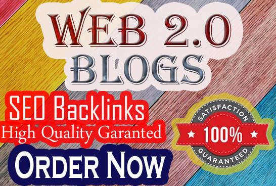 I will create 50 super web 2.0 backlinks buffer blogs