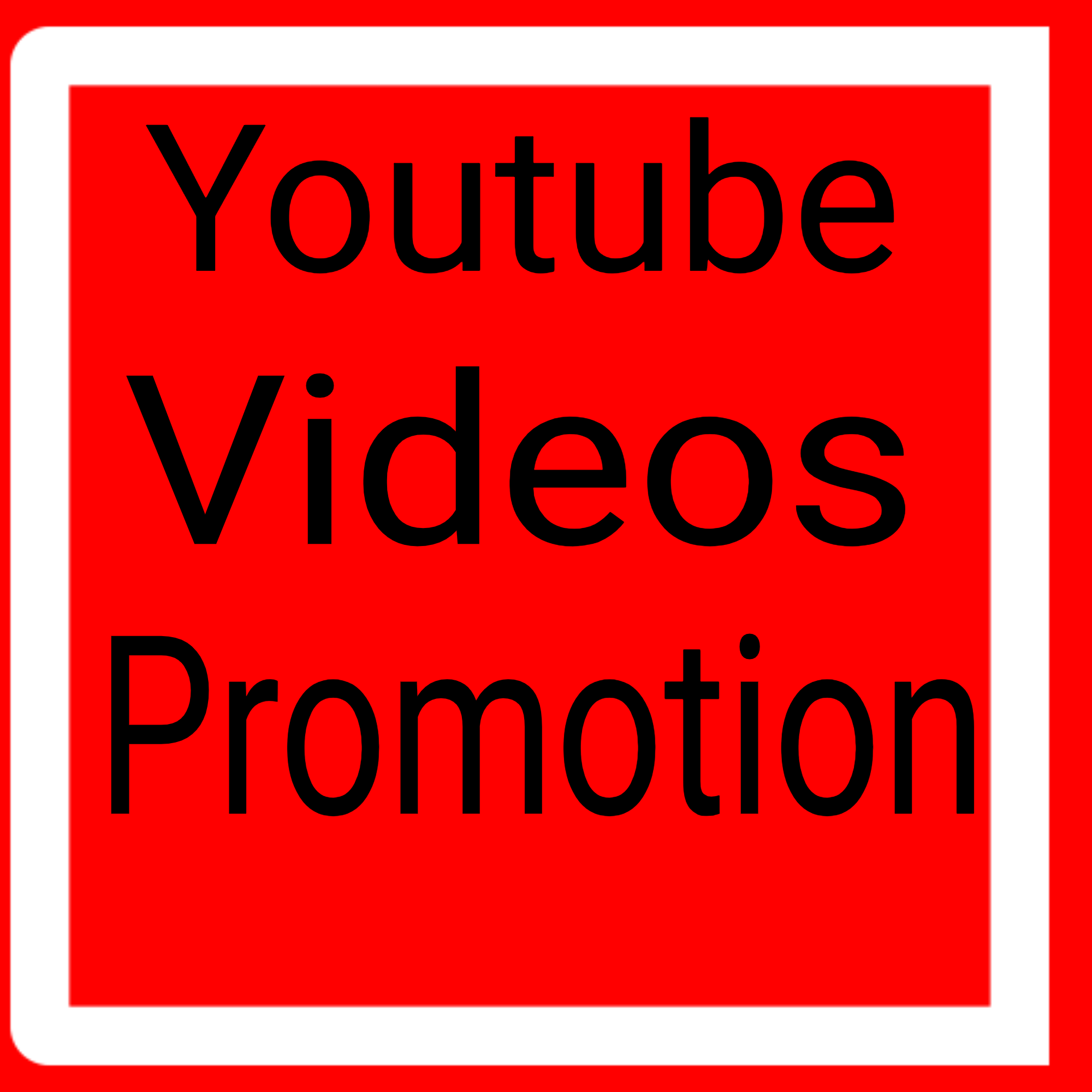 Youtube High Quality video promotion