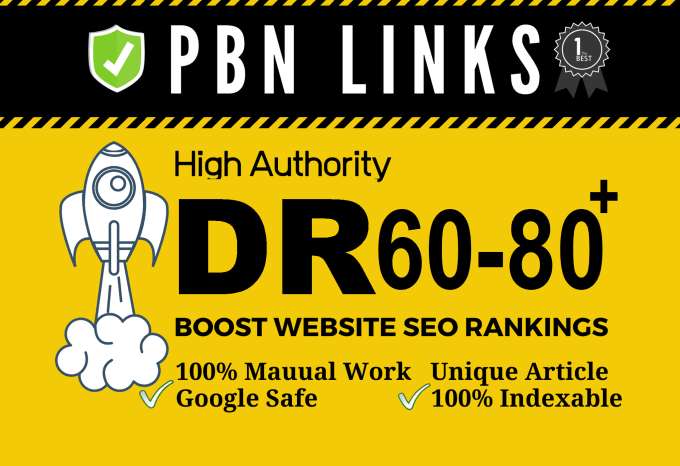 I will increase domain rating to 50+ with authority backlinks