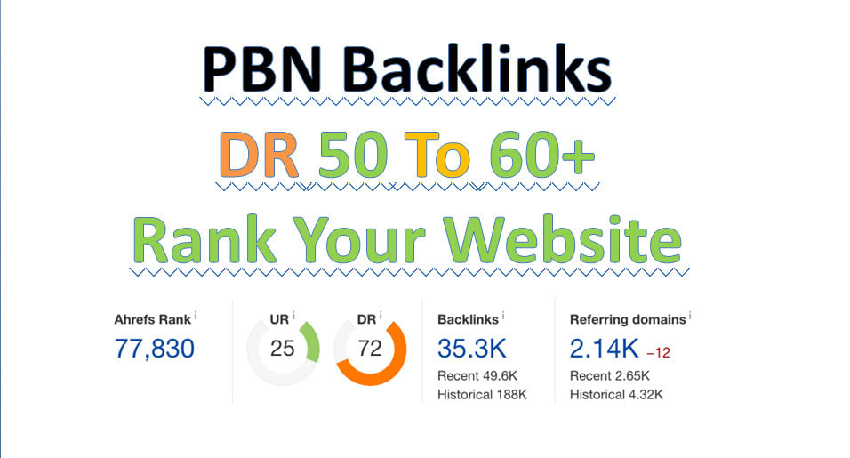 make 50 sticky DR 50 to 60 high quality dofollow backlinks seo